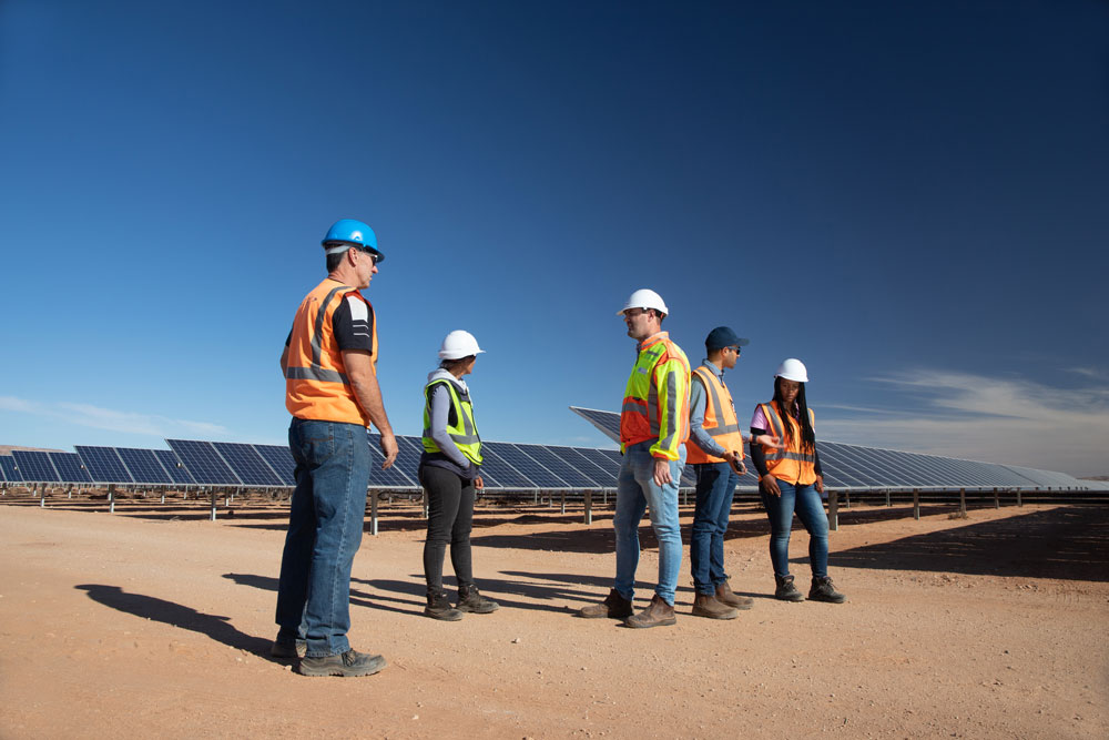 Industrial Photographer South Africa | Aggeneys Solar Facility USAID